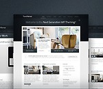 Unique Multi Purpose PSD Template