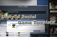 Unity3d Social Game Template