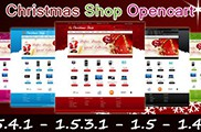 Christmas Shop Opencart Template
