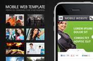 Mobile Web Template - HTML5 & CSS3