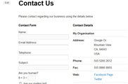 Ultimate Contact Page
