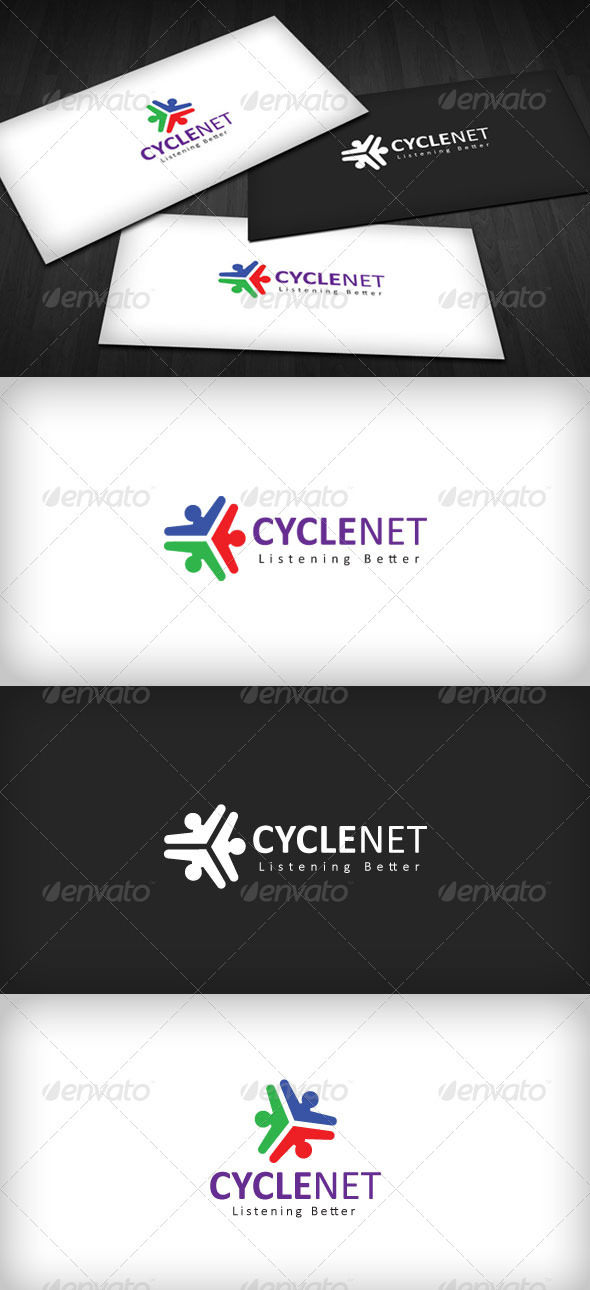 Graphic River Cyclenet Logo Logo Templates -  Abstract  Vector 861693