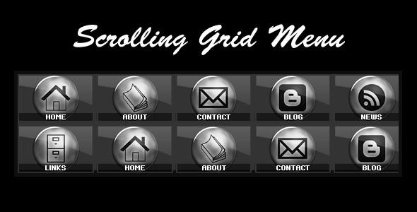 ActiveDen Scrolling Grid Menu 859916