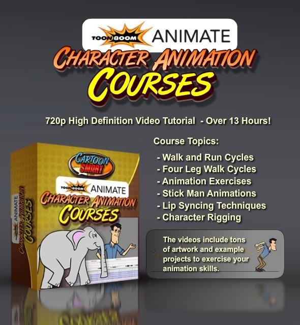 TutsPlus Toon Boom Animate Character Animation Courses 865484