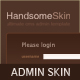 Handsome Admin Skin - ThemeForest Item for Sale