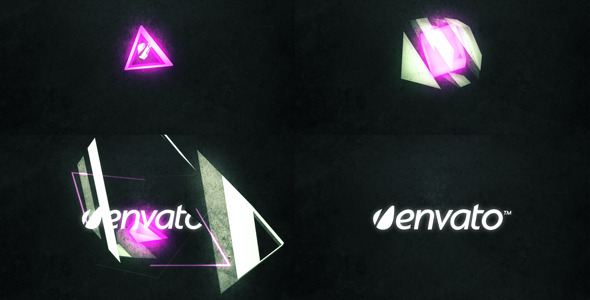 After Effects Project - VideoHive Cube Cutout Logo 868825