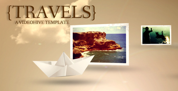 After Effects Project - VideoHive Travels 876646