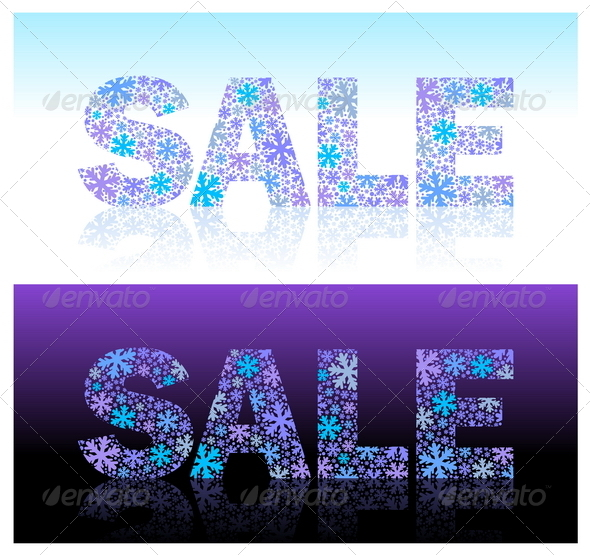 Graphic River Christmas Sale Vector Illustration Vectors -  Conceptual  Seasons/Holidays 879612