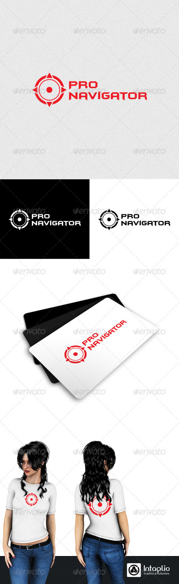 Graphic River Navigation Logo Logo Templates -  Abstract  Vector 759495