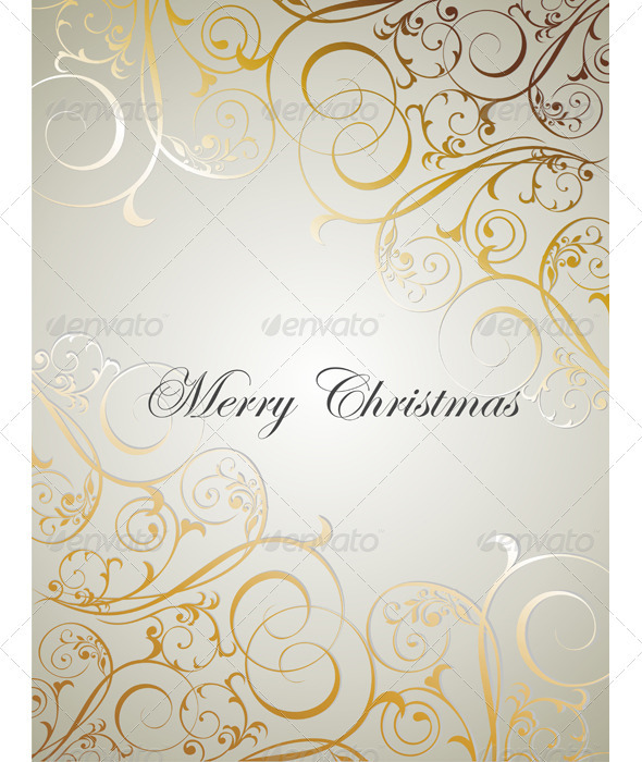 Graphic River Christmas Background Vectors -  Decorative  Backgrounds 882294