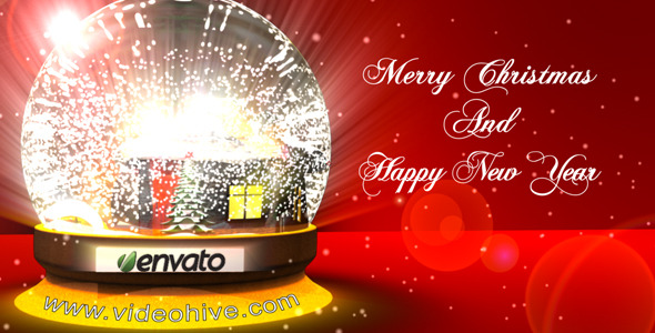 After Effects Project - VideoHive Christmas Glass Snowball 853190