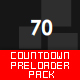 Simple & Clear Countdown Preloader Pack [12] - ActiveDen Item for Sale
