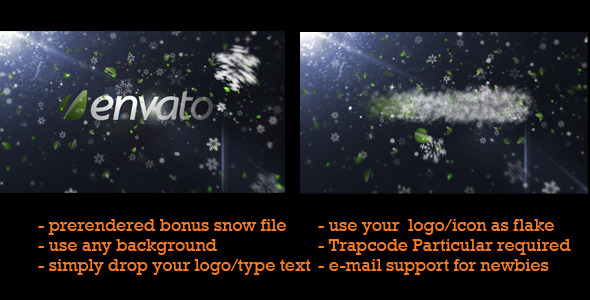 After Effects Project - VideoHive Let It Snow 848726