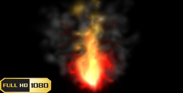 After Effects Project - VideoHive Fire Flame 890312