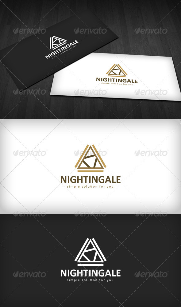 Graphic River Nightingale Logo Logo Templates -  Abstract  Vector 893116