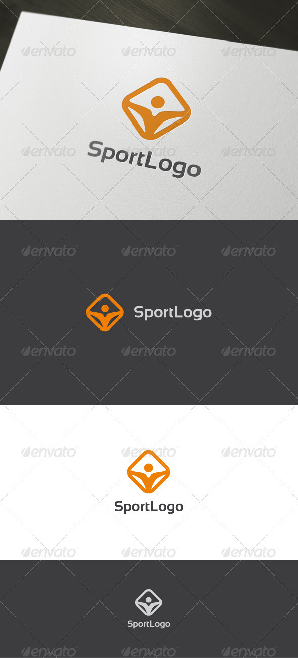 Graphic River Sport Logo Logo Templates -  Humans 895044