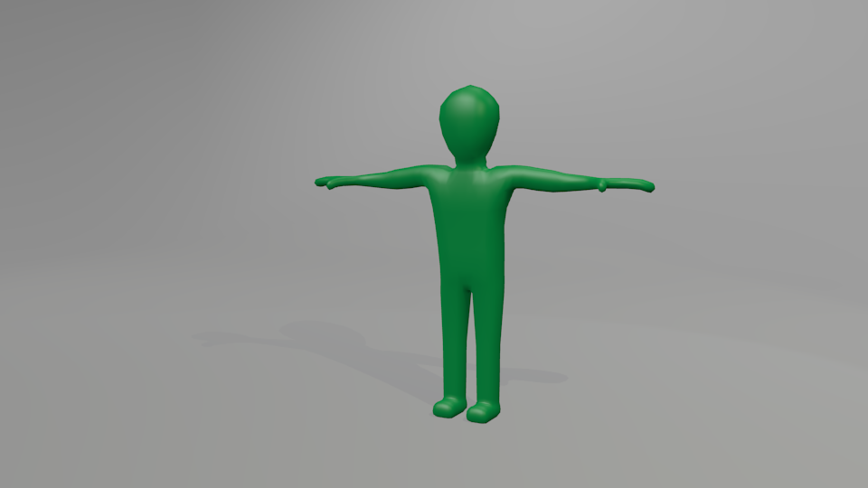 3DOcean Blender rigged figure 895403