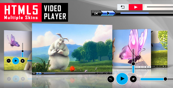 CodeCanyon - HTML5 Video Player with Multiple Skins - RIP