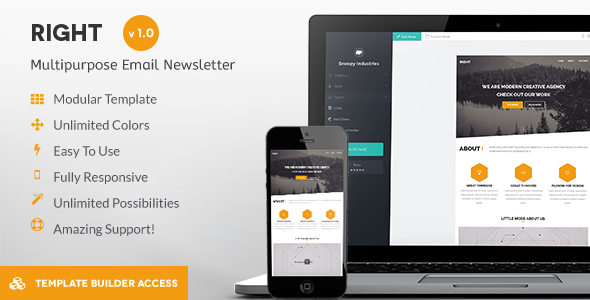 Our Featured Email Template