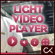 LIGHT VIDEO PLAYER - ActiveDen Item for Sale