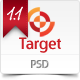 Target - Psd template - ThemeForest Item for Sale