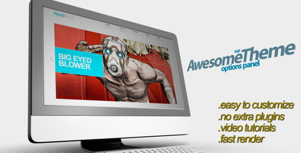 After Effects Project - VideoHive WP Theme Presentation 902576