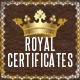 Royal Certificates - GraphicRiver Item for Sale
