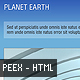 Planet Earth: The Sky - HTML Portfolio Template - ThemeForest Item for Sale