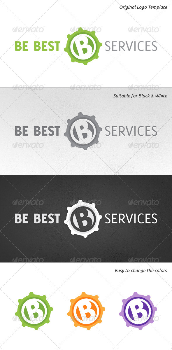 GraphicRiver Be Best Logo Template 921272