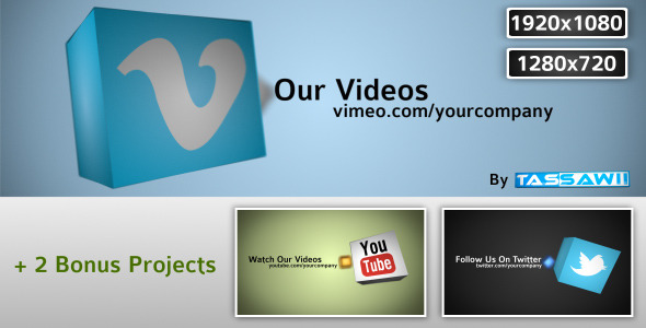 After Effects Project - VideoHive Social Boxes 891168