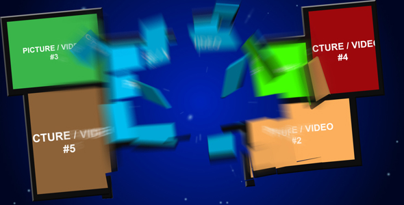 After Effects Project - VideoHive Explosive presentation 116874