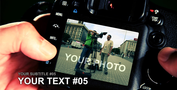 After Effects Project - VideoHive PHOTOGRAPHER 116977