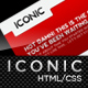 Iconic (HTML), a bold new professional web layout. - ThemeForest Item for Sale
