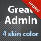 Great Admin theme - ThemeForest Item for Sale
