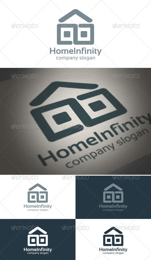 Graphic River Home Infinity Logo Templates -  Symbols 859989