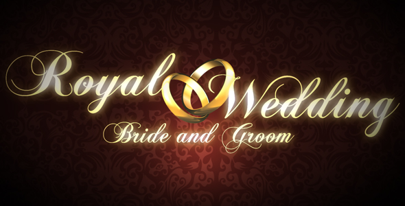After Effects Project - VideoHive Royal Wedding 117204