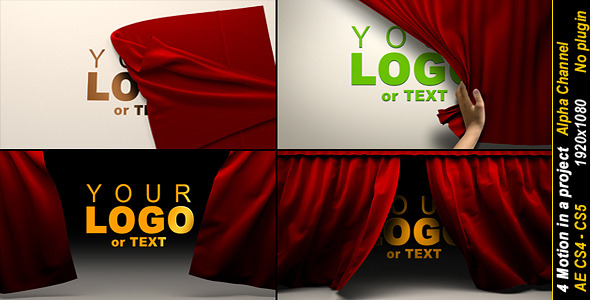 After Effects Project - VideoHive The Opening Series Of Realistic Cloth 926595