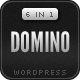 Domino - Bold Premium Wordpress Portfolio - ThemeForest Item for Sale