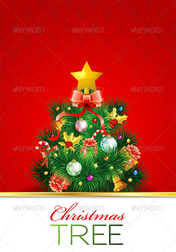 Graphic River Christmas Tree Vectors -  Conceptual  Seasons/Holidays  Christmas 928868