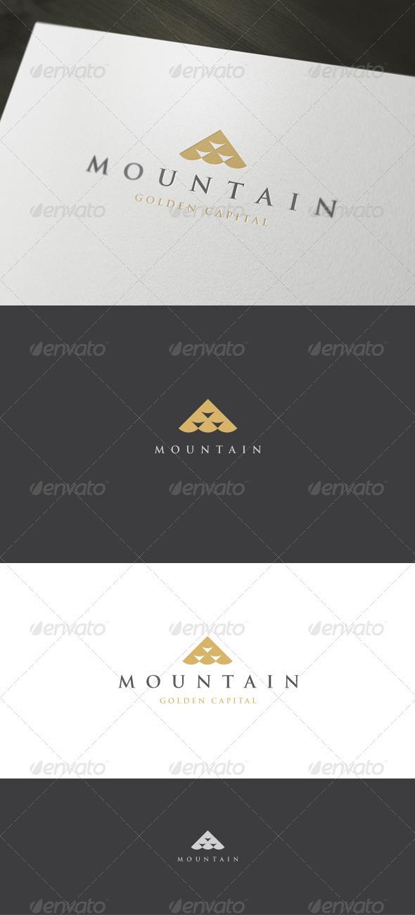 Graphic River Mountain Logo Logo Templates -  Abstract  Vector 931028