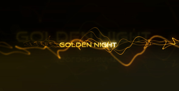 After Effects Project - VideoHive Golden Night 118041