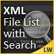 XML File List with Search  - ActiveDen Item for Sale