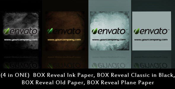 After Effects Project - VideoHive BOX Reveal 4 in ONE 118444