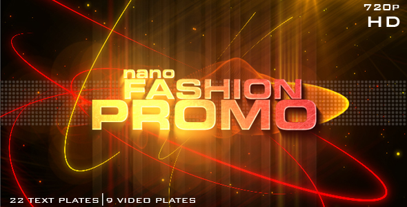 After Effects Project - VideoHive Nano Fashion Promo 118472