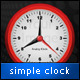 Simple Clock App for Titanium - CodeCanyon Item for Sale