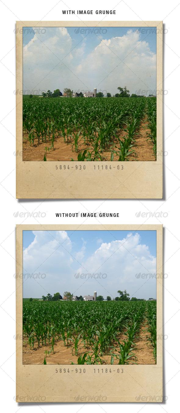 GraphicRiver Grunge Polaroid 87554