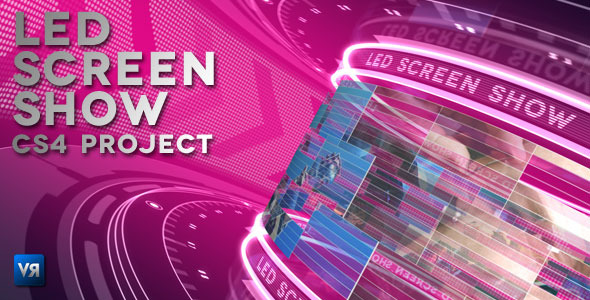 After Effects Project - VideoHive Led screen show 944090