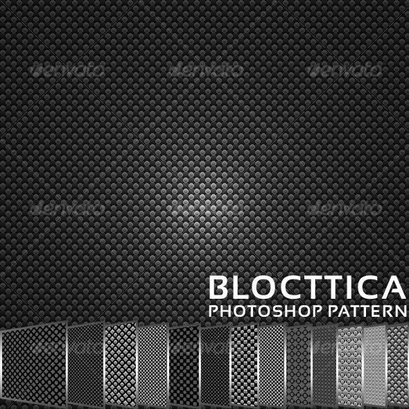 GraphicRiver Blocttica Photoshop Pattern 38867