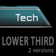 Tech Lower third - 2 versions - VideoHive Item for Sale