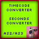 Timecode to Seconds / Seconds to Timecode AS2/AS3 - ActiveDen Item for Sale